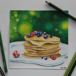 Pancakes by Bobblegary