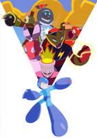 Megaman Poster by DmitriYu