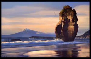 New Zealand Coast by WojtekFus