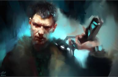 Bladerunner Speedpainting by WojtekFus
