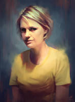 Portrait Painting by WojtekFus