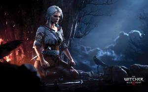 Ciri Meditating - The Witcher 3: Wild Hunt by WojtekFus