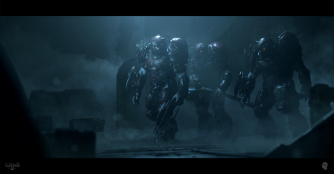 Halo Wars 2 Cinematic - Keyframes by WojtekFus