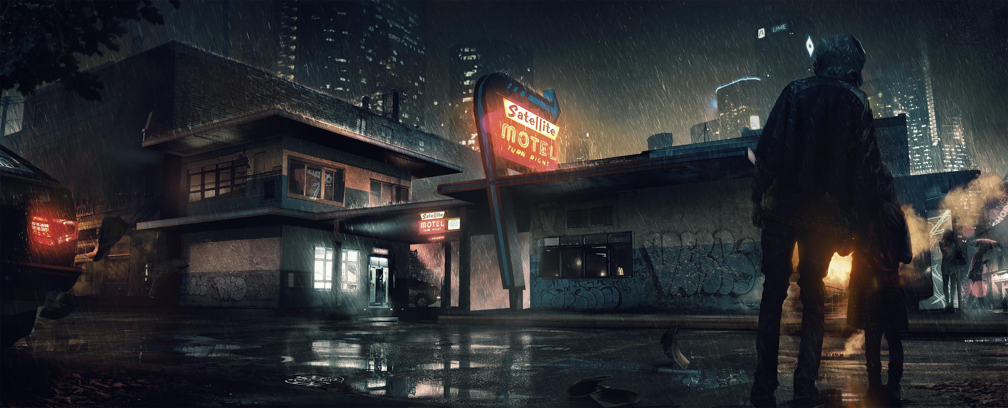 Motel - Detroit: Become Human by WojtekFus