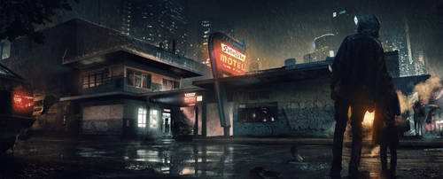 Motel - Detroit: Become Human by WojtekFus