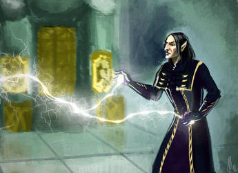 Thalmor Snape by Natalliel