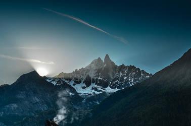 Chamonix Sunrise by RadekGalczynski