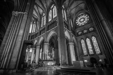 Reims Cathedral by RadekGalczynski