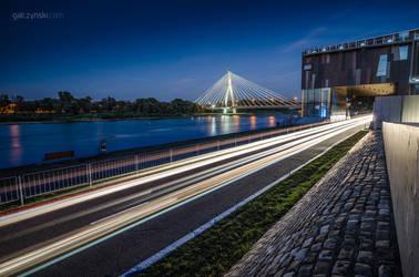 Warsaw riverside by RadekGalczynski
