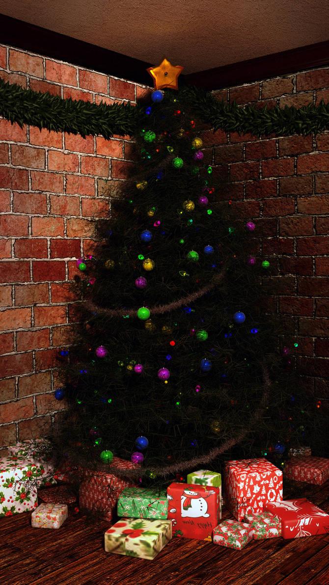 Christmas Tree 2017 by csbird