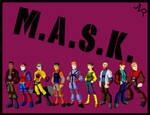 M.A.S.K. AGENTS by Josh-van-Reyk