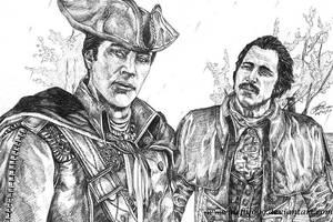 Haytham and Charles by Nefly099