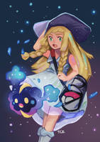Pokemon Lillie by teohcheeeing