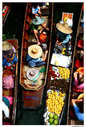 Floating Market by GeorgeGS