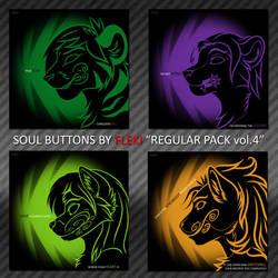 Soul Buttons [Regular Pack vol.4] by Fleki
