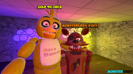 Selfie with Gold94Chica by MonsterKirby