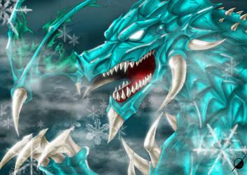 Ice Dragon by Osmar-Shotgun