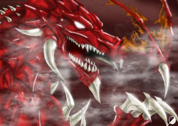 Fire Dragon by Osmar-Shotgun