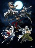 Commission: Assassins Creed Sisterhood by Osmar-Shotgun