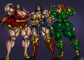 Muscles by Osmar-Shotgun
