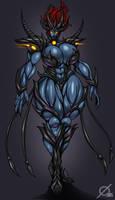 Patreon Reward: Demon Queen by Osmar-Shotgun