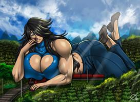 Giant Aliessa by Osmar-Shotgun