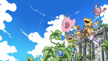 Digimon Adventure Tri Digimon Wallpaper by Dr-Roflcopter