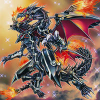 Red-Eyes Flare Metal Dragon by 1157981433