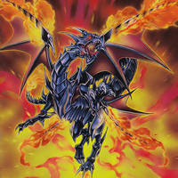 Red-Eyes Black Flare Dragon by 1157981433