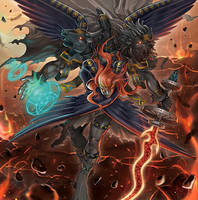 Cherubini, Black Angel of the Burning Abyss by 1157981433