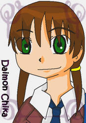 .:Chika: Chika Daimon:. by TeamDats