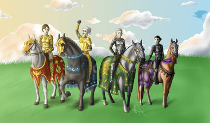 Summercamp for Knights by Razeback