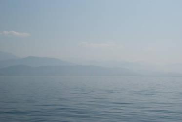 Blue Sky, Blue Mountains, Blue Sea by paldorslate