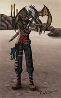 Hunter and his pet by Rakuin