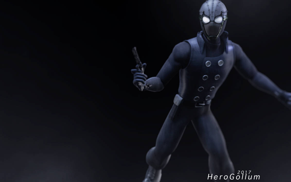 spider-man: noirherogollum on deviantart