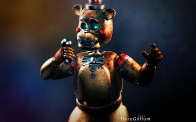 Stylised Toy Freddy by HeroGollum