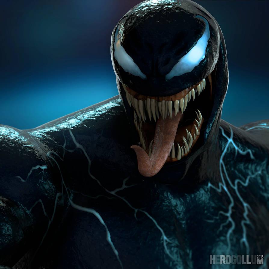 Venom Wallpapers: 3D Model By HeroGollum On DeviantArt