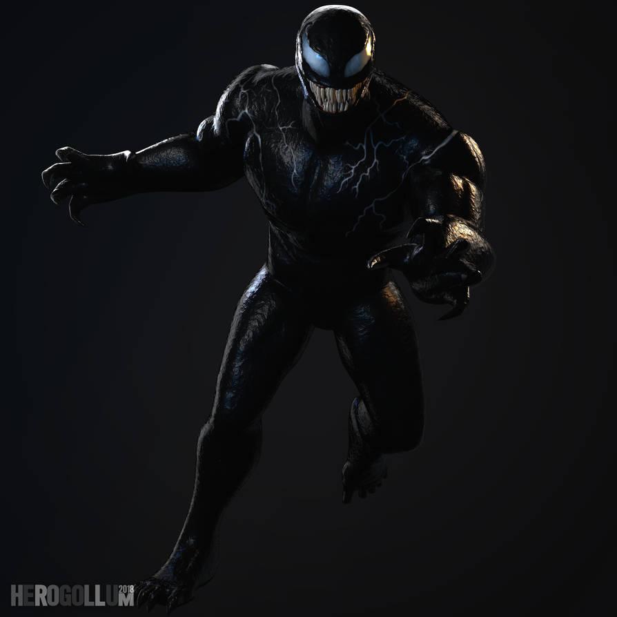 Venom 3d Model Full Body By Herogollum On Deviantart