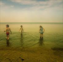 summer sea children by ssuunnddeeww