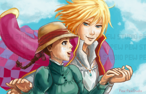 Howl's Moving Castle by Pew-PewStudio