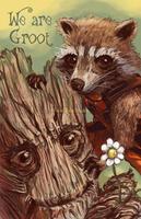 We are Groot by Pew-PewStudio