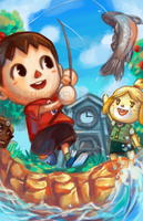 Animal Crossing by Pew-PewStudio