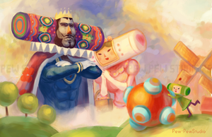 Katamari Damacy by Pew-PewStudio