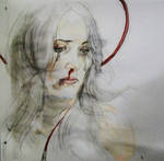 our lady of sorrow by KatarzynaKostecka
