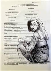 An application for a certificate... by KatarzynaKostecka