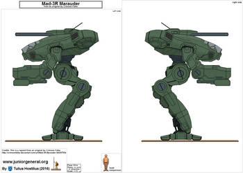 1254 Marauder Mech 1.3 by TuliusHostilius