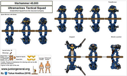 2297 Space Marines 40k 1.6 by TuliusHostilius