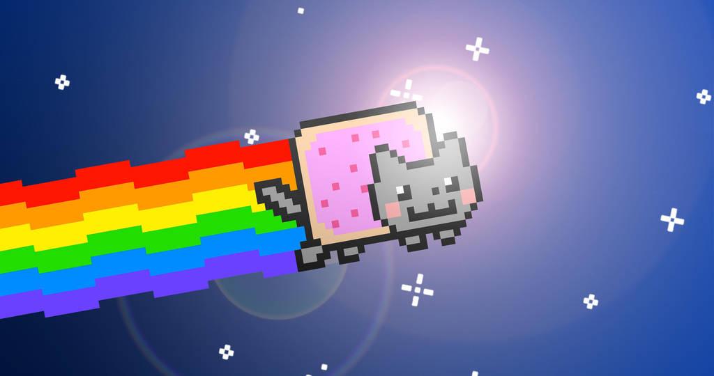 Nyan Cat 4k Wallpaper By Destuert On Deviantart