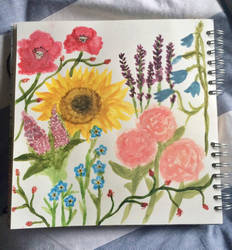 Wild Flowers by daisymaydrawings