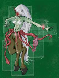 The Daughter of Yog-Sothoth by glittergodzilla